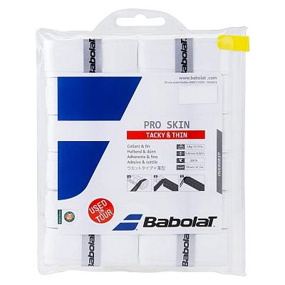 【12回分】バボラ 2016 プロスキン オーバーグリップテープ【ホワイト】 654008 (Babolat Pro Skin 12Pack)(16y4m)