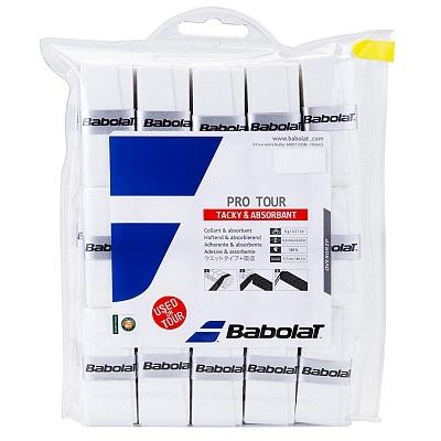 【30回分】バボラ 2016 プロツアー オーバーグリップテープ【ホワイト】 657002 (Babolat Pro Tour 30Pack)(16y4m)