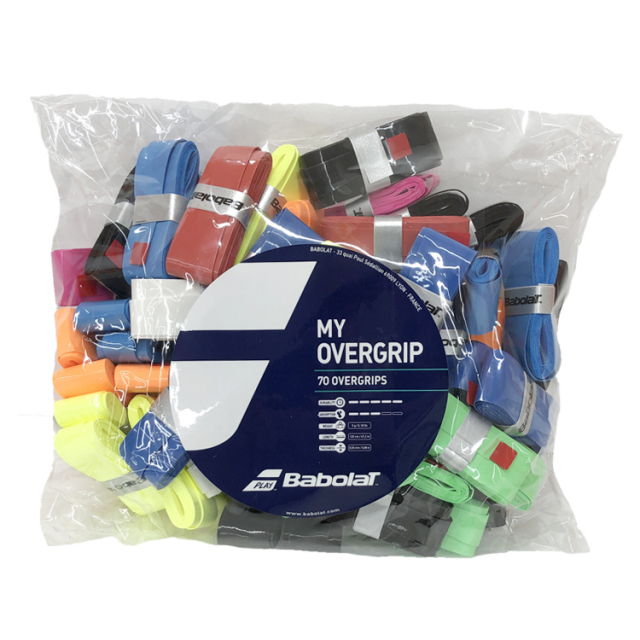 【70本入】バボラ マイグリップ×70 656003/656006 (Babolat My Grip Overgrip 70 Grip Pack)オーバーグリップテープ