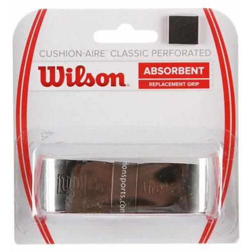 ウィルソン クッションエア クラシック パフォーテッド (Wilson Cushion-Aire Perforated Replacement Grip Black )WRZ4210