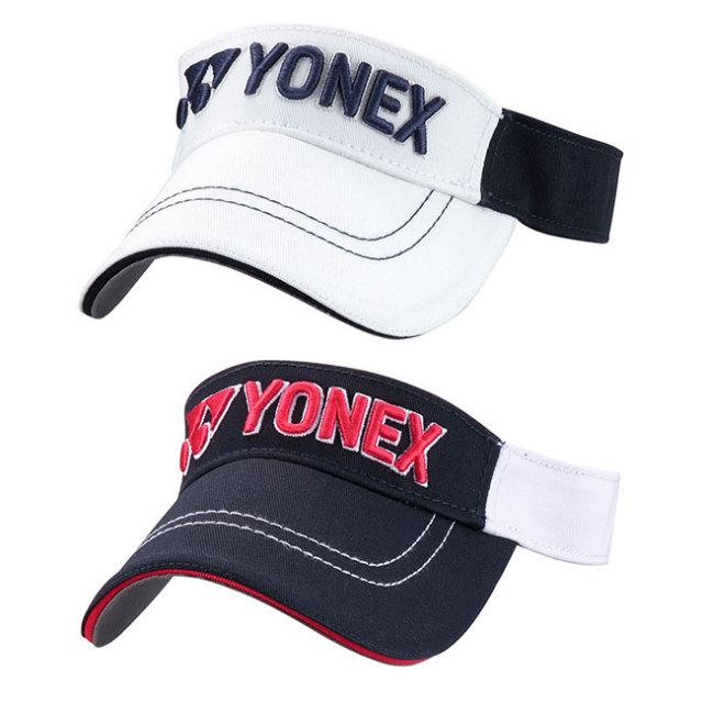 ヨネックス(YONEX) ジュニア(ユニセックス) ロゴ刺繍 バイザー GCT080J(21y3mゴルフ)