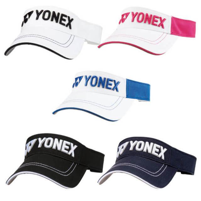 ヨネックス(YONEX) ユニセックス サンバイザー GCT080(19y7mゴルフ)