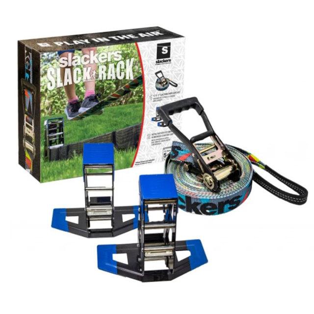 B4Adventure スラッカーズ(Slackers) PORTABLE SLACK RACK ポータブル スラック ラック 綱渡り バランス感覚 養成 SLA.821(19y11m)