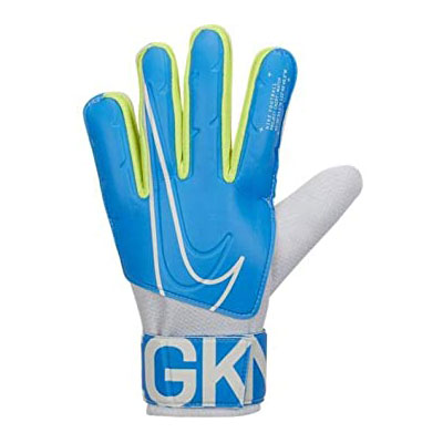 在庫処分特価】ナイキ(NIKE) GK マッチ ゴールキーパー グローブ サッカーグローブ 手袋 GS3882-486 ブルーヒーロー×ホワイト(20y4m)