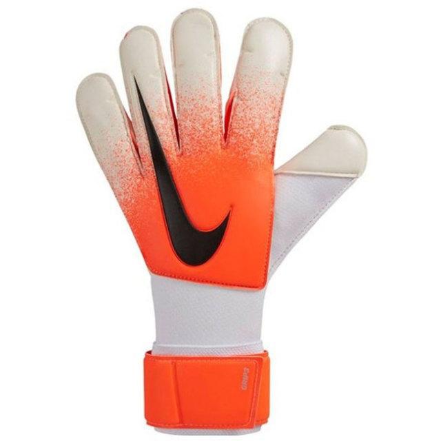 在庫処分特価】ナイキ(NIKE) GK グリップ3 ゴールキーパー グローブ サッカーグローブ 手袋 GS3374-100 ホワイト×ハイパークリムゾン×ブラック(20y4m)