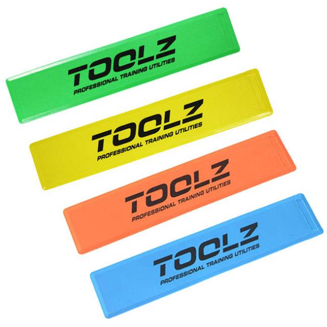 【ミニテニスコートの作成にも使える】TOOLZ マーキングライン7cm×35cm(10枚入り)(TOOLZ Marking Lines (10 Pack) ) (16y10m)
