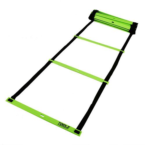 【細かいフットワークのトレーニングに】【ロングタイプ8M】TOOLZ アジリティ ラダー LS-3671-8M (16y10m)ity Ladder 8m) (16y10m)