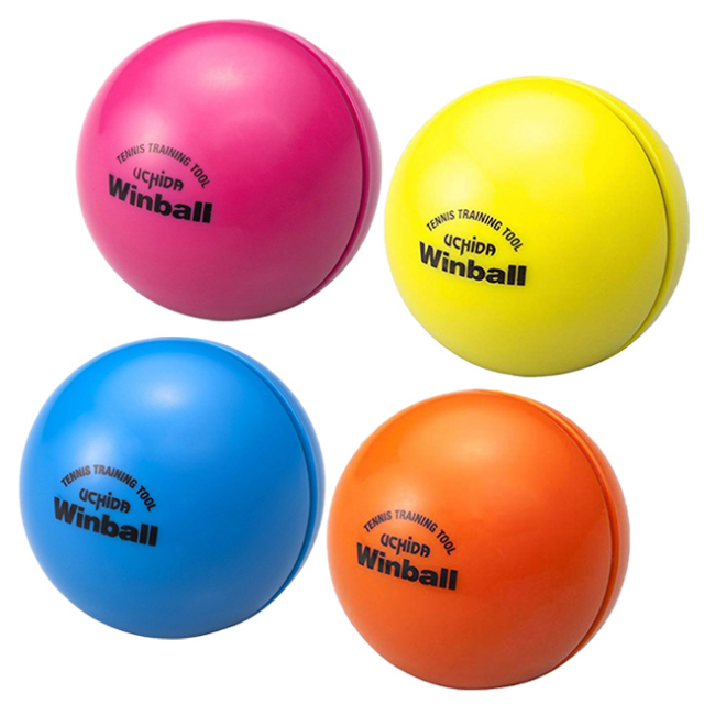 【筋力アップ】テニス素振り専用ウエイトボール ウチダ ウィンボールWinball(WI-120)(17y3m)