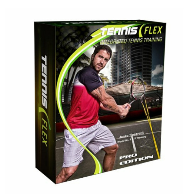 [体幹強化 筋力アップ フォーム矯正に テニス フレックス プロ TENNIS FLEX PRO 練習器具 トレーニンググッズ TE305(21y7m)