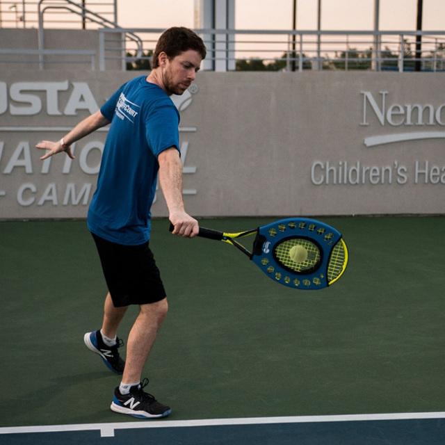 [一点集中!ミート率アップ!]スィートスポット トレーナー ボレー ストローク テニス トレーニンググッズ 練習器具 TE450(21y7m)