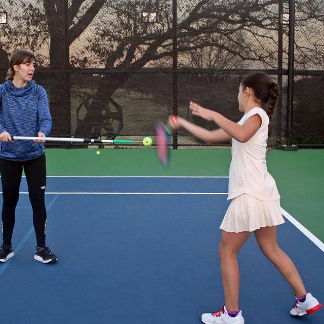 [ボールが当たる感覚をつかもう!]トップスピン練習機 スピンドクター テニス トレーニンググッズ 練習器具 TE179(21y7m)