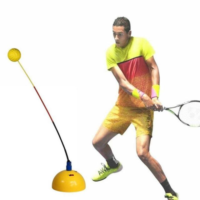 [初心者向け]ポータブル テニストレーニング テニス練習機 ステレオタイプボール (20y10m)