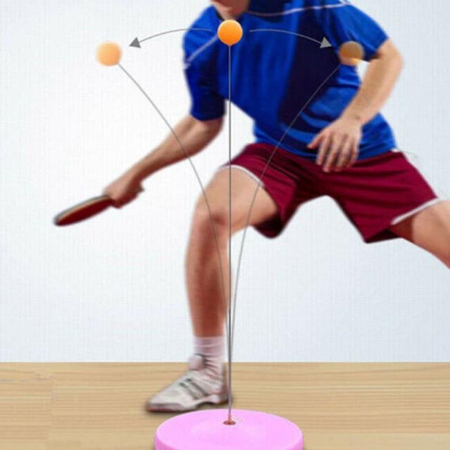 ポータブル卓球リバウンドトレーナー 卓球用練習機 (20y10m)