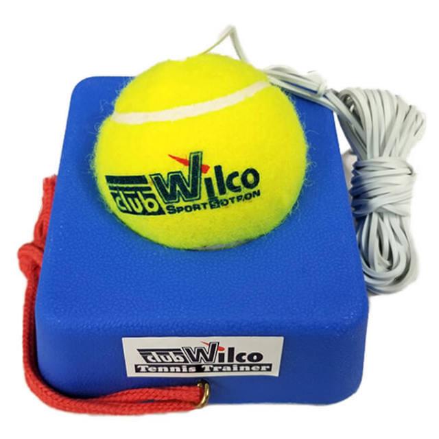 [一人で練習可能!] ユニックス(UNIX) Club Wilco 硬式テニストレーナー TX20-14(20y5m)
