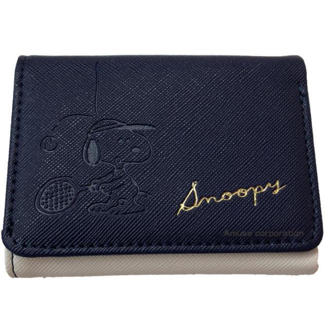 [プレゼントにぴったり!] スヌーピー PEANUTS SNOOPY 三つ折り財布 テニス 51538(20y2m)
