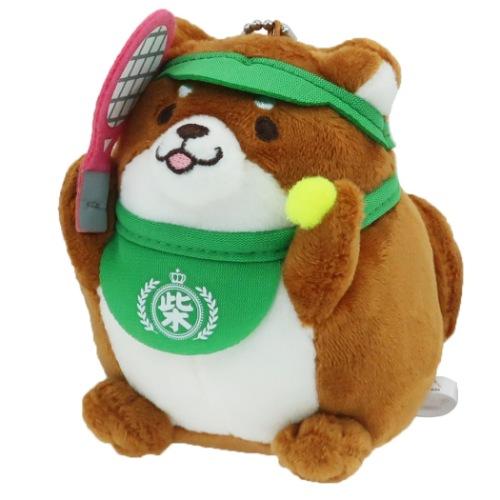 忠犬もちしば ぬいぐるみボールチェーン おかかテニス SANS-046946(19y12m)