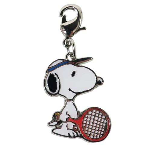 [プレゼントにもぴったり!] スヌーピー PEANUTS SNOOPY テニス キーホルダー チャムコレ マスコット (19y9m)