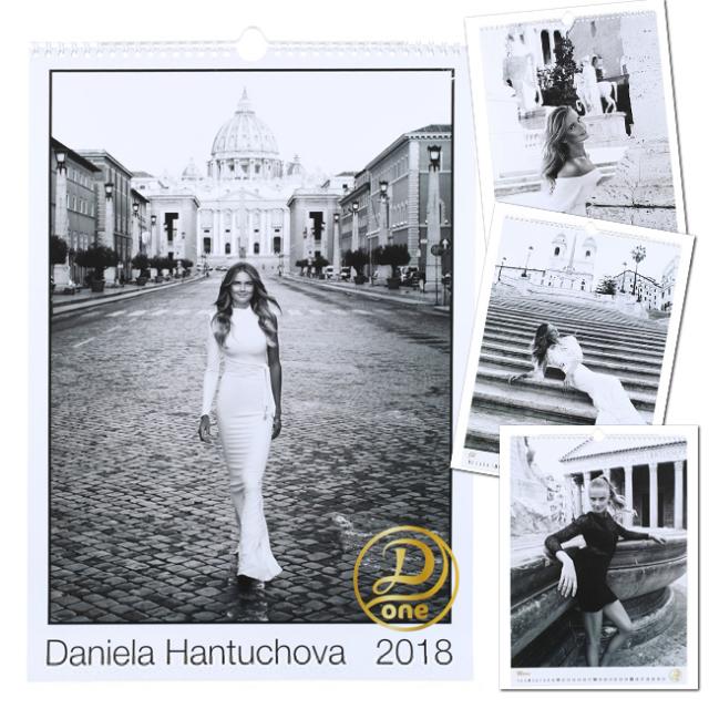 在庫処分特価】ダニエラ ハンチュコバ 2018年 カレンダー(17y12m)