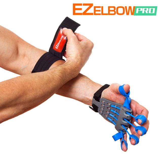 【テニス肘サポート・再発防止】イージーエルボープロ エクステンサー(EZ ElbowPro Xtensor)【テニスエルボーサポーター・トレーニングセット】