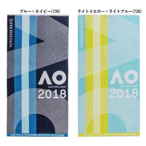 在庫処分特価】【全2色】オーストラリアンオープン 2018 プレイヤータオル(76cm×150cm) S14AT6(17y12m)