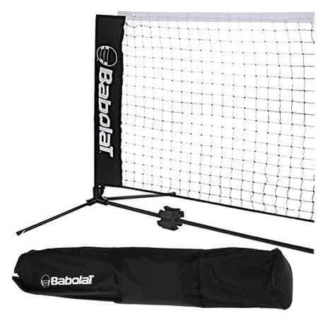 【5.8メートルのロングタイプ!】バボラ(BABOLAT) ミニテニス&バドミントン練習用 ポータブルネット 730004(17y3m)