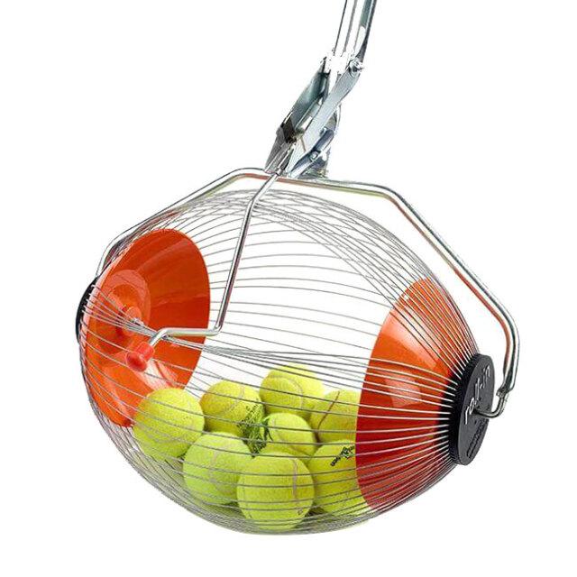 [ボール集めが楽にできる♪ 大型タイプ]Kollectaball コレクタボール K-MAX ボール集め機 集球機 テニスボール ピックルボール 球拾い 並行輸入品 (21y1m)