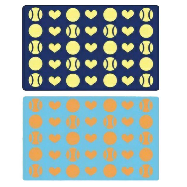 [泉州ブランド・純国産] blan & co. 洗えるボタンつきひざ掛け ブランケット ハート柄 BCB002(20y9m)