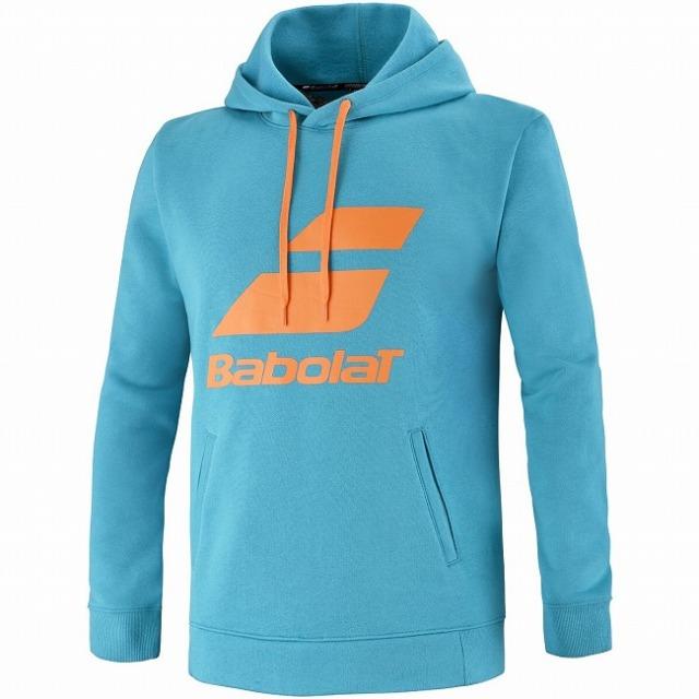 バボラ(Babolat) 2021 ジュニア(ユニセックス) EXERCISE エクササイズ フード付き長袖スウェット パーカー 4JTB041-4080 カニールベイ(21y5mテニス)