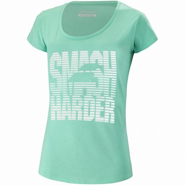 バボラ(Babolat) 2021 ジュニア(ガールズ) EXERCISE エクササイズ メッセージ 半袖Tシャツ 4GS21445-8003 コッカトゥーヘザー(21y5mテニス)