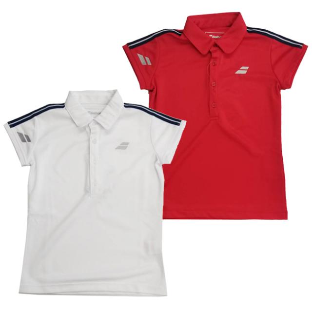 在庫処分特価】バボラ(Babolat) ジュニア(ガールス) ゲームシャツ 半袖ポロシャツ BTJOJA01(21y3mテニス)