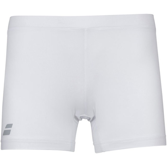 バボラ(Babolat) 2020 SS ジュニア(ガールズ) COMPETE(コンピート) ショーティ 2GS20101-1000 ホワイト×ホワイト(20y2mテニス)