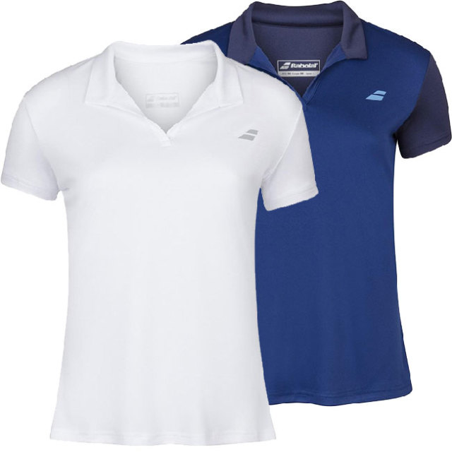 バボラ(Babolat) 2020 ジュニア(ガールズ) PLAY(プレー) ポロシャツ 3GP1021(20y2mテニス)