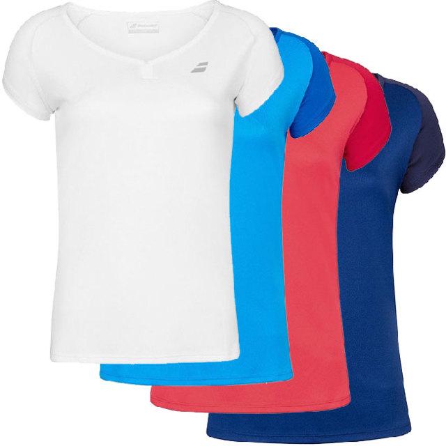 バボラ(Babolat) 2020 ジュニア(ガールズ) PLAY(プレー) ラグラン袖Tシャツ 3GP1011(20y2mテニス)