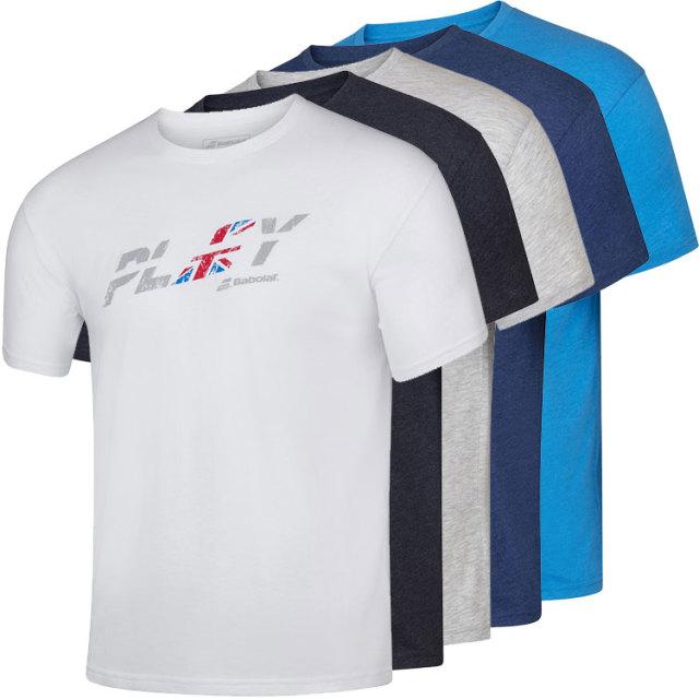 [USサイズ]バボラ(Babolat) 2020 SS メンズ エクササイズ カントリー Tシャツ 4MS20444(20y2mテニス)