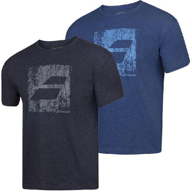 [USサイズ]バボラ(Babolat) 2020 SS メンズ エクササイズ ビッグフラッグ Tシャツ 4MS20442(20y2mテニス)