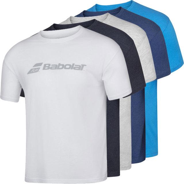 [USサイズ]バボラ(Babolat) 2020 メンズ エクササイズ バボラ Tシャツ 4MP1441(20y2mテニス)