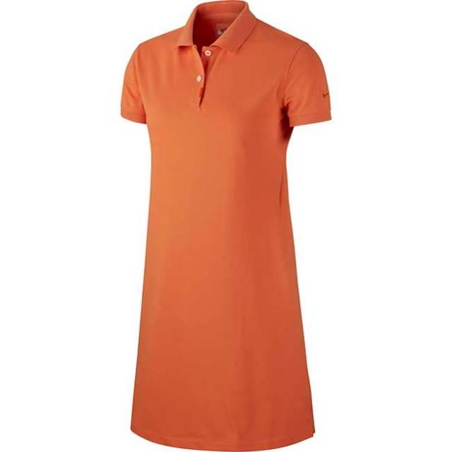 [日本サイズ]ナイキ(NIKE) 2020 SU レディース ポロ ウィンメンズドレスThe Nike Dress BV0194-871 オレンジ(20y5mゴルフ)