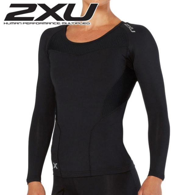 2XU(ツータイムズユー) レディース ベースコンプレッション ロングスリーブトップ(WA2270A)BASE COMPRESSION L/S TOP PWX長袖シャツ(18y8m)