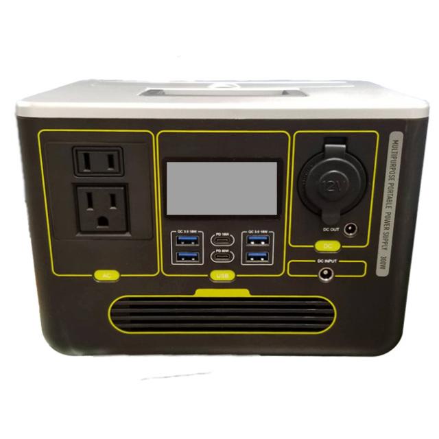 「防災・緊急・停電に」 ポータブル電源 444Wh 120000mAh 小型 軽量 便利 3WAY充電式 PSE安全認証 S633(21y9m)