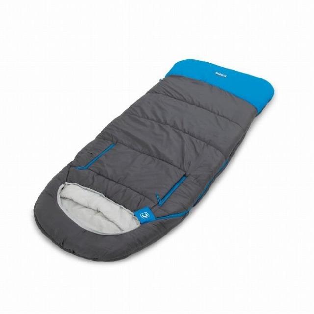 CORE EQUIPMENT(コアイクイップメント) 30F アドバンスドハイブリッド スリーピングバッグ 寝袋 1425527-グレー×ブルー(21y4m)