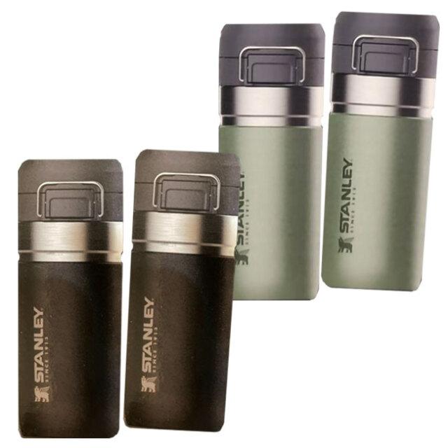 STANLEY(スタンレー) ステンレス製携帯用 魔法瓶 473ml×2本組 1427764(21y1m)
