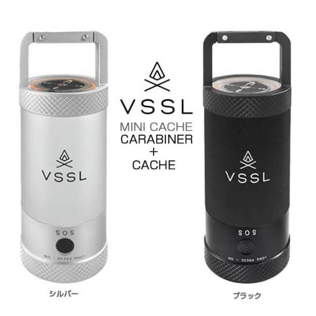 ベッセル(VSSL) ミニキャッシュ アウトドア LEDライト/カラビナ付ケース MINI CACHE(18y11m)