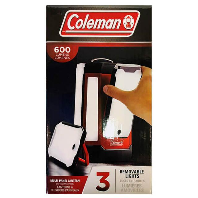 コールマン(Coleman) スリーパネル 600ルーメン LED ランタン 2000035063(19y5m)