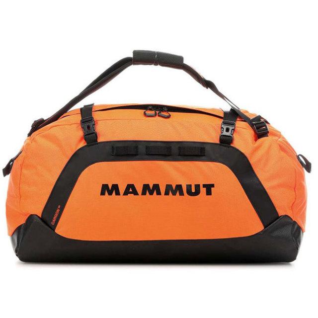 マムート(MAMMUT) カーゴン Cargon 90L ダッフルバッグ バックパック リュック 2510-02080-2210-1090 セーフティオレンジ×ブラック(20y9m)