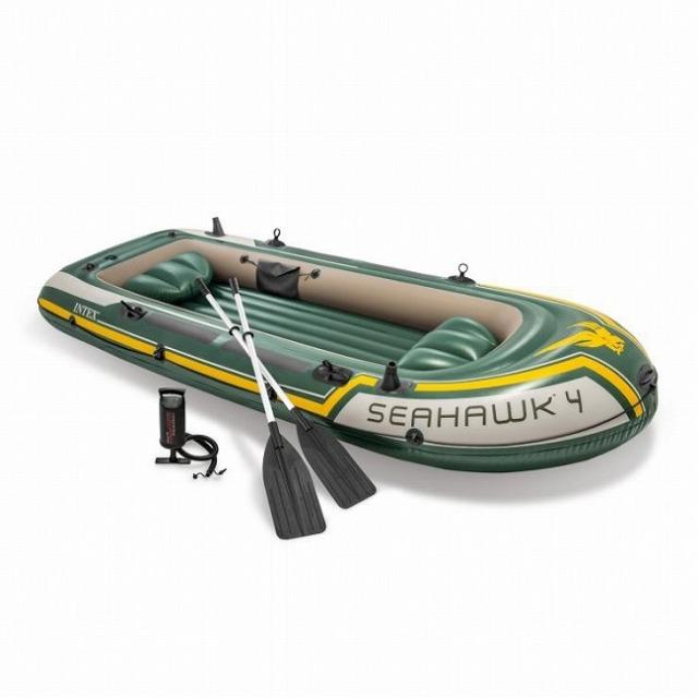 インテックス(INTEX) シーホーク 4 インフレータブル 4人用 ボート セット 68351NP(21y4m)