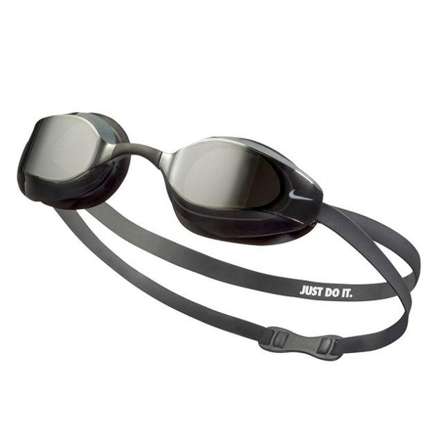 [FINA承認モデル]ナイキ(NIKE) 2020 FA ユニセックス ヴァイパー ミラーゴーグル NESSA176-040 2986001-21 ブラック×シルバー(20y8m)