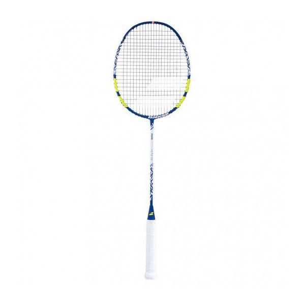 [バドミントンラケット]バボラ(Babolat) プライム ライト ガット張上済 海外正規品 バドラケット 601363-175 ブルー×イエロー(20y8m)[AC]