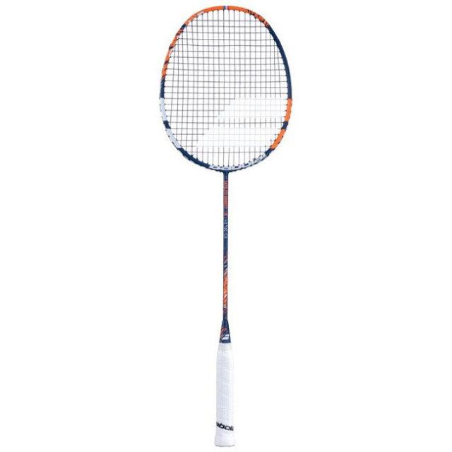 [バドミントンラケット]バボラ(Babolat) サテライト グラビティ 74 ガット張上済 海外正規品 バドラケット 601351-110 オレンジ(20y7m)[AC]