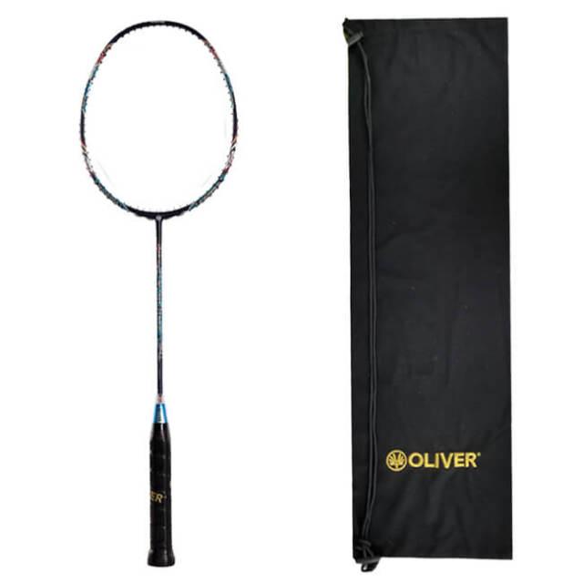 [バドミントン]OLIVER(オリバー) TIGER TANK 205 (タイガータンク205) ガット張無し 海外正規品 バドミントンラケット OA15T25(20y3m)[AC]