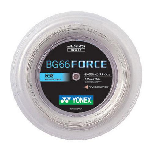 日本正規品【200mロール巻】ヨネックス BG66フォース BG66F-2(0.65mm) バドミントンガット(YONEX)